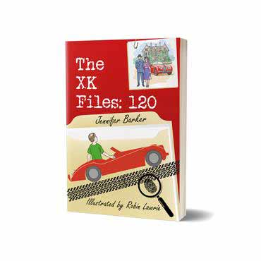 The XK Files 120 children's book