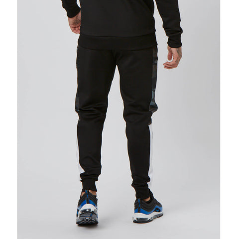 Side Panelled Jogger | Camo Black