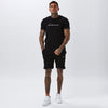 Hidden Logo Band Short | Black