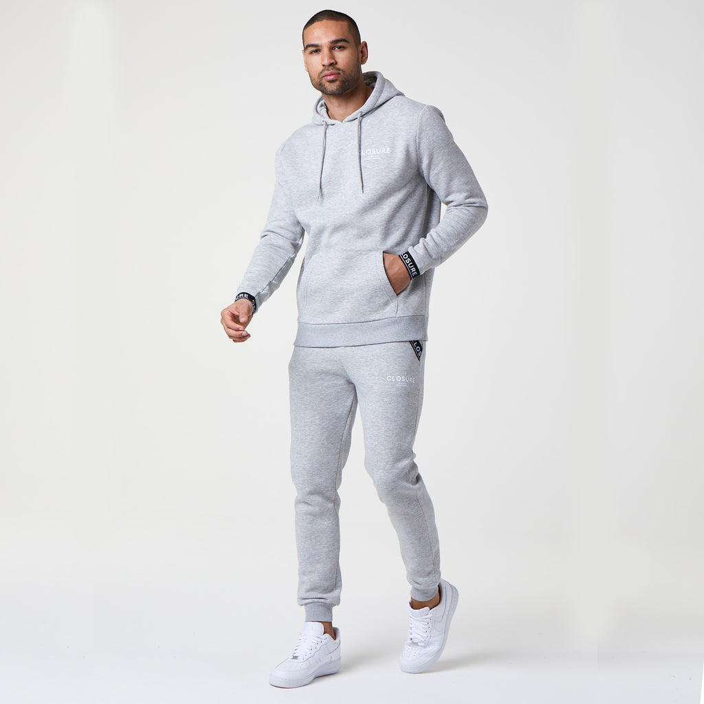 Branded Hoody | Grey Marl