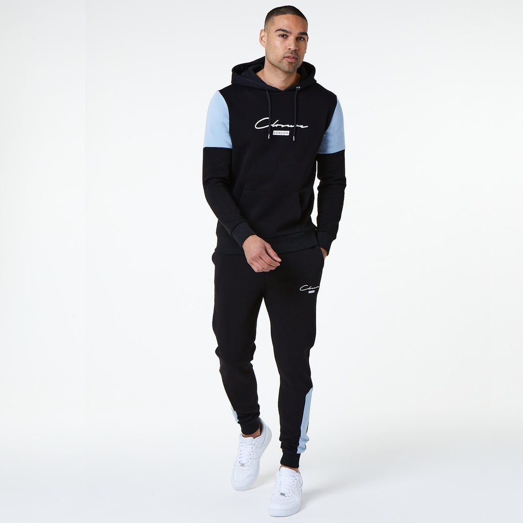 London Cut & Sew Hoody | Black
