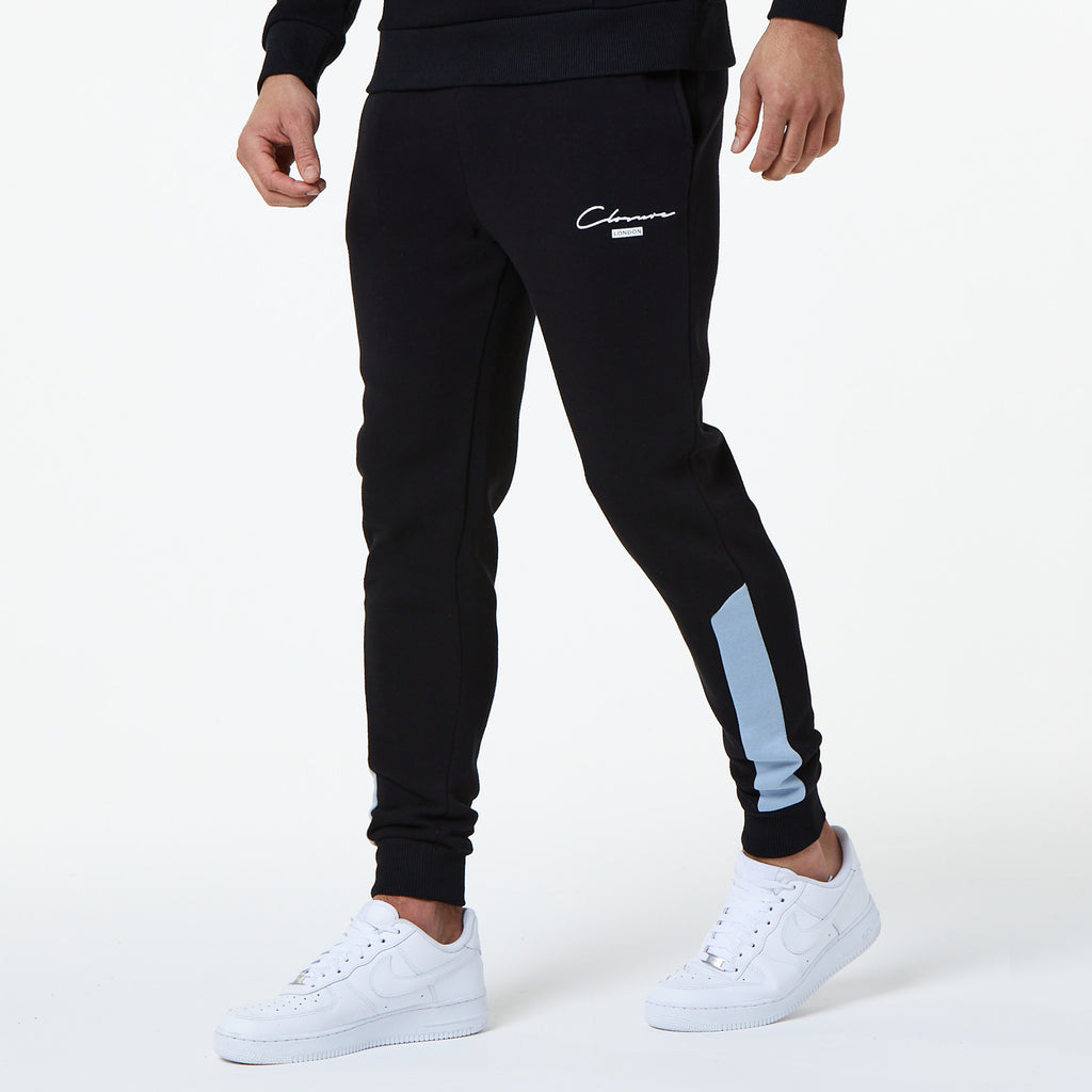 London Cut & Sew Jogger | Black