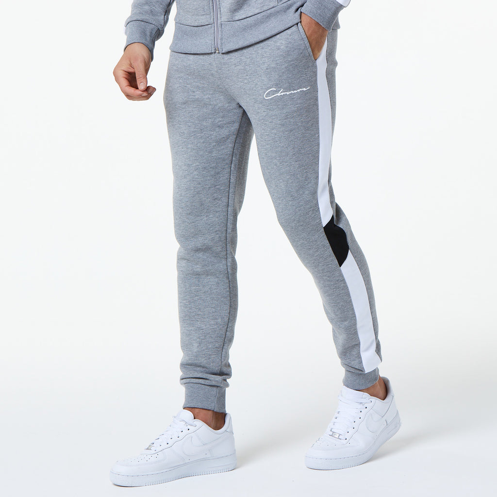 Multi Panel Jogger | Grey Marl
