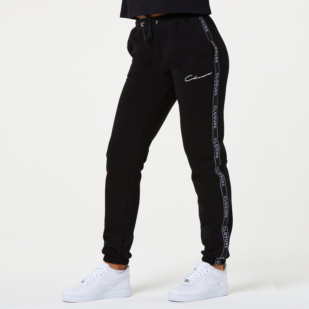 Taped Jogger | Black