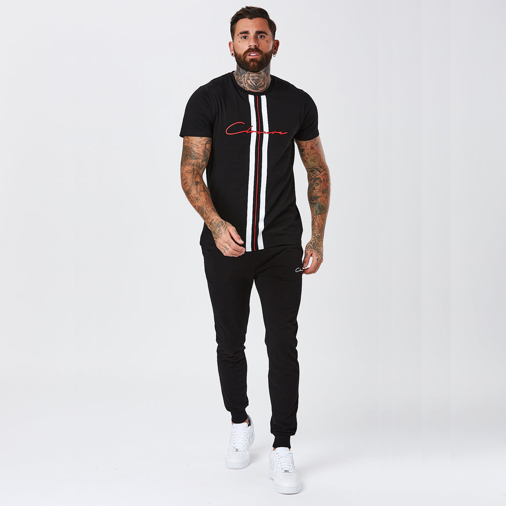 Vertical Tee | Black