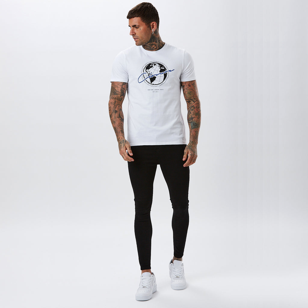 Worldwide Tee | White
