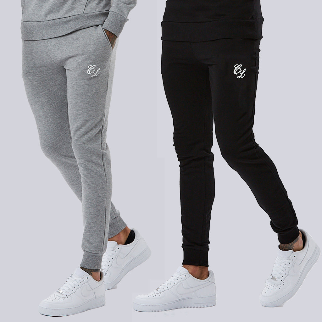 Multipack Joggers | Black Grey