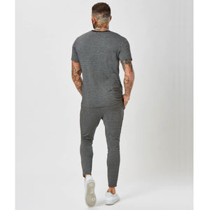 Herringbone Trouser | Grey
