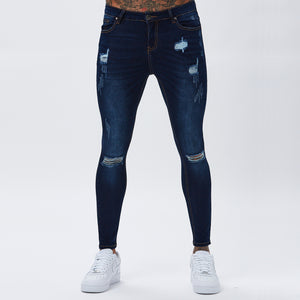 Spray On Ripped Jeans | Indigo