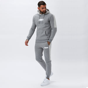 Core Block Jogger | Grey Marl