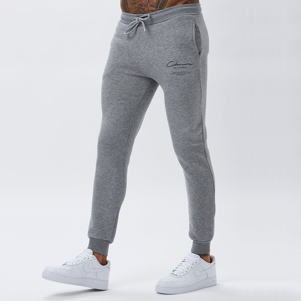 Essentials Jogger | Grey Marl