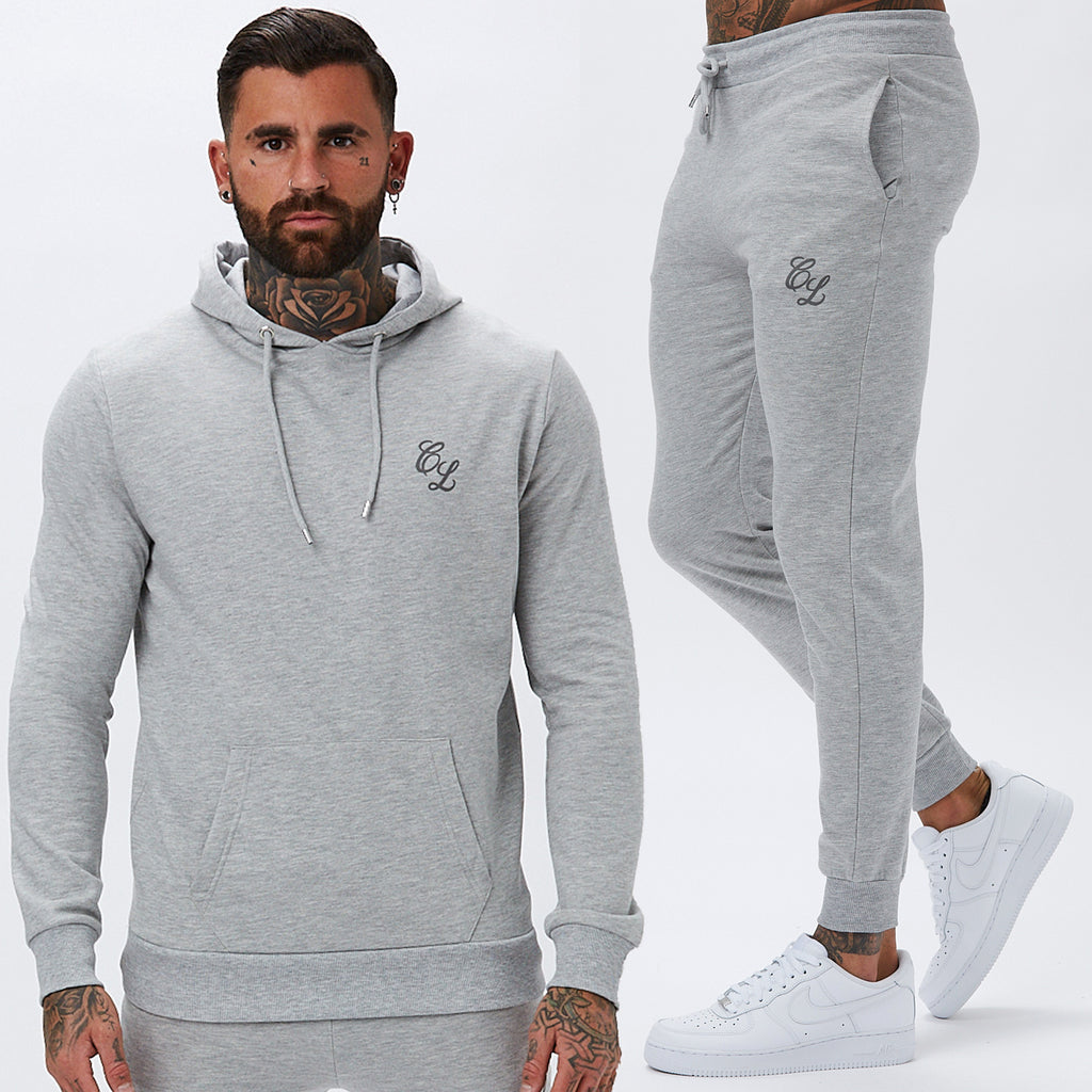 Signature Tracksuit | Light Marl