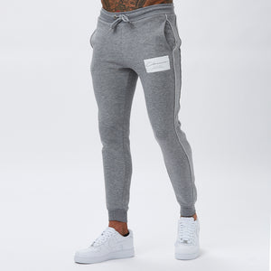 Box Logo Piped Jogger | Grey
