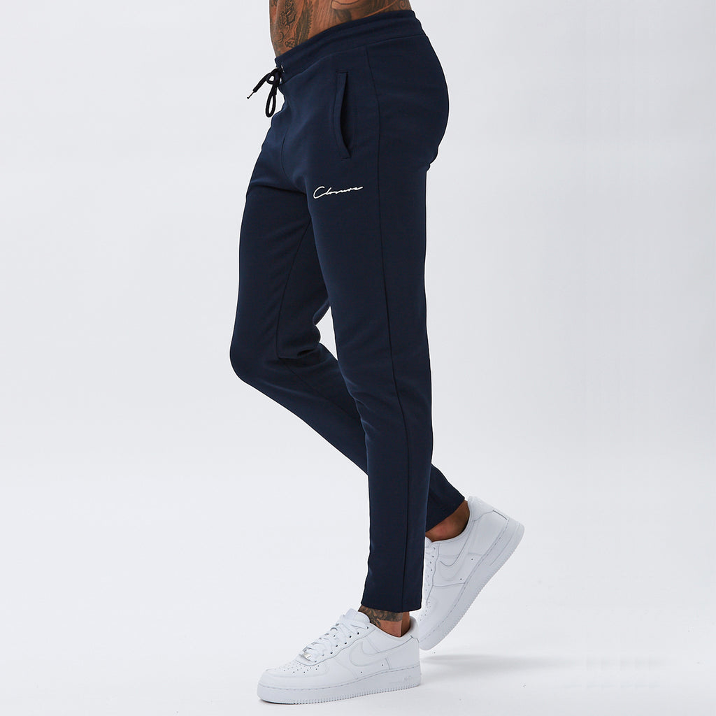 Essentials Poly Track Jogger | Navy