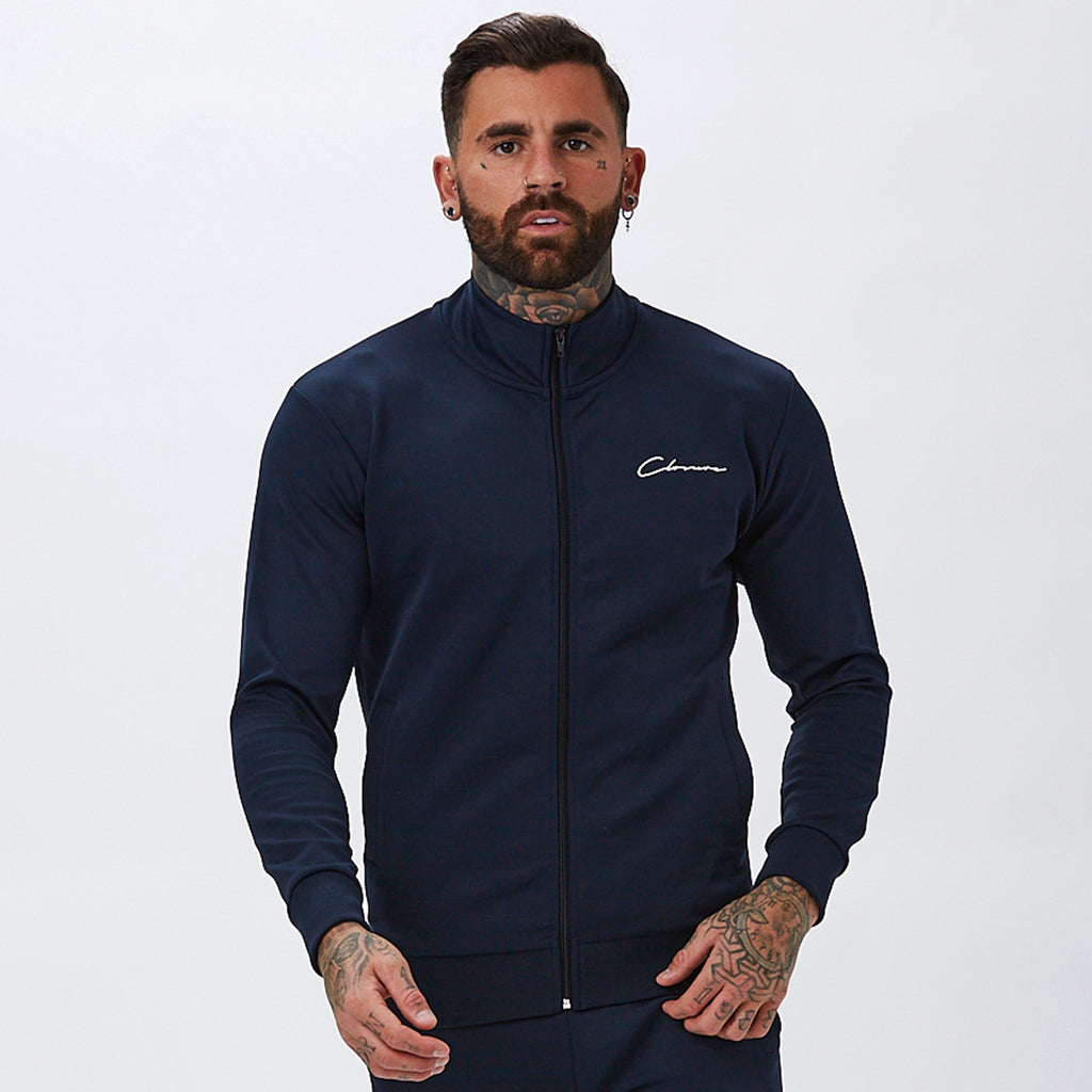 Essentials Poly Funnel Tracktop | Navy