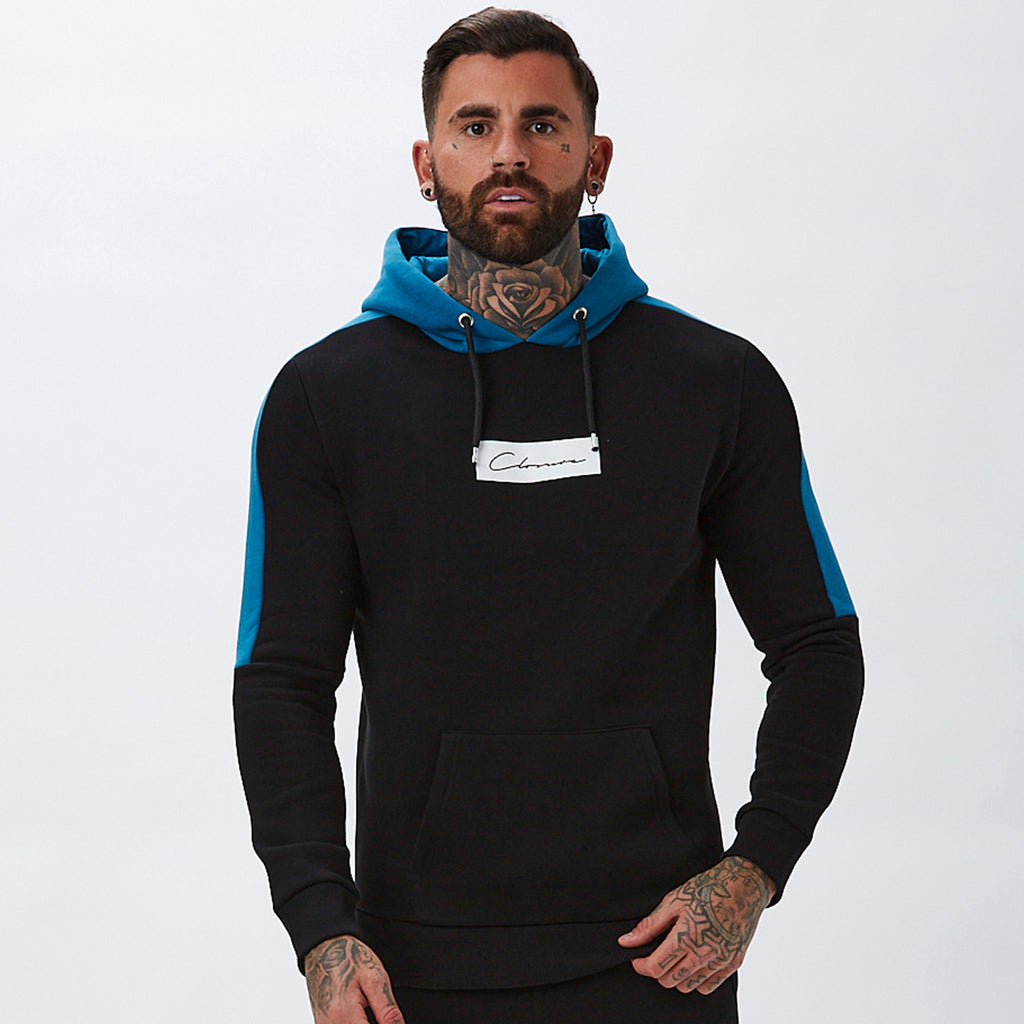 Core Block Hoody | Black