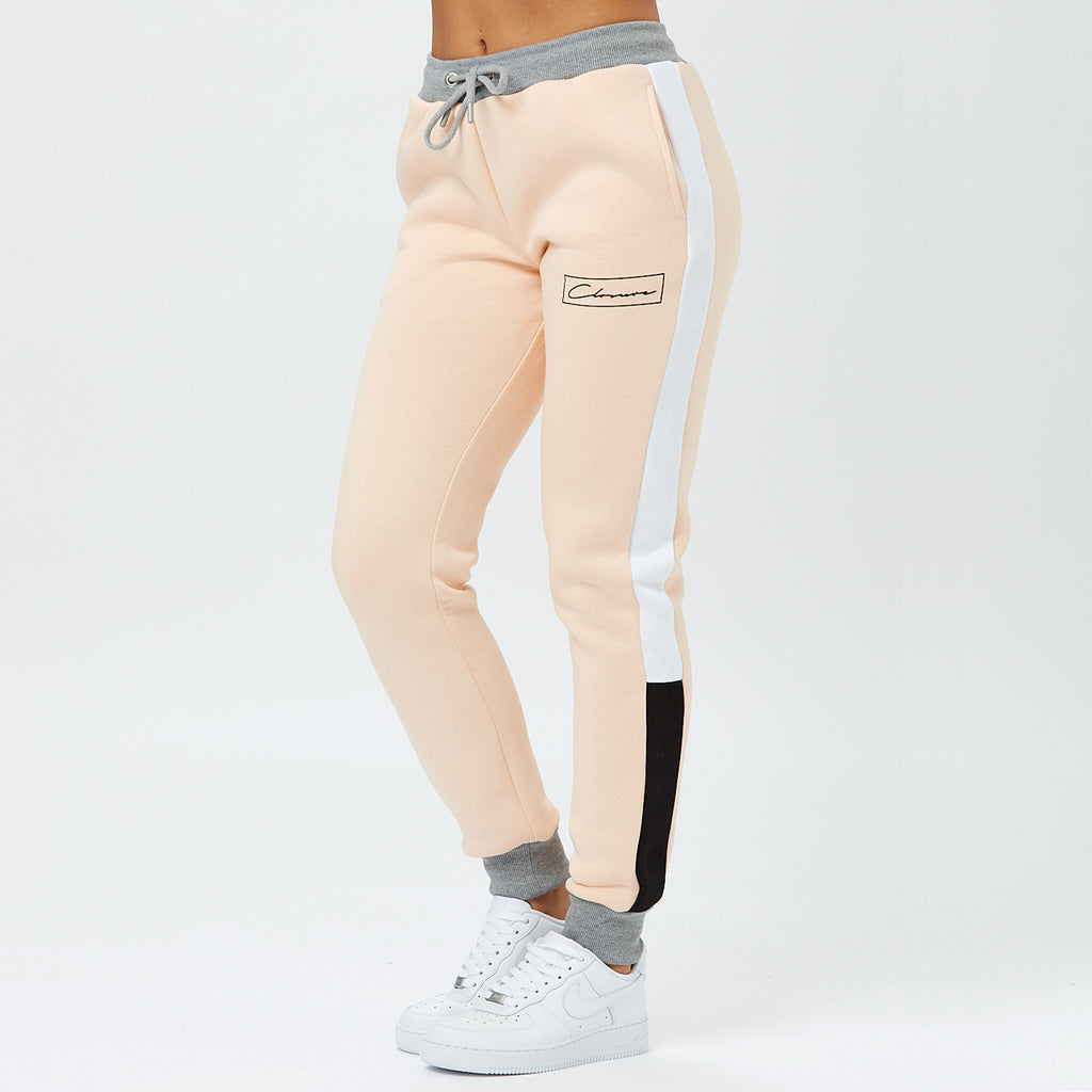 Cut & Sew Jogger | Peach