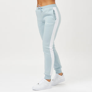 Contrast Side Panelled Jogger | Slate Blue