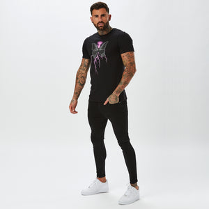 Electric Butterfly Tee | Black