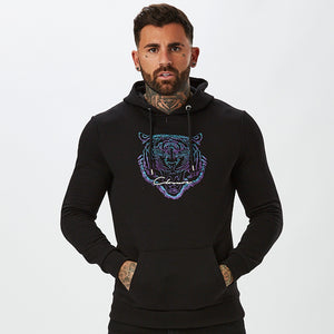 Fade Fury Hoody| Black