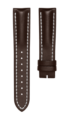 Leather strap for Biatec Corsair - dark brown - no buckle