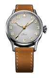 Biatec Corsair CS 03 - automatic pilot watch - light brown vintage leather strap