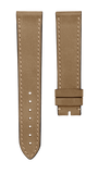 Biatec leather strap Vintage Nubuk - beige - 20 mm