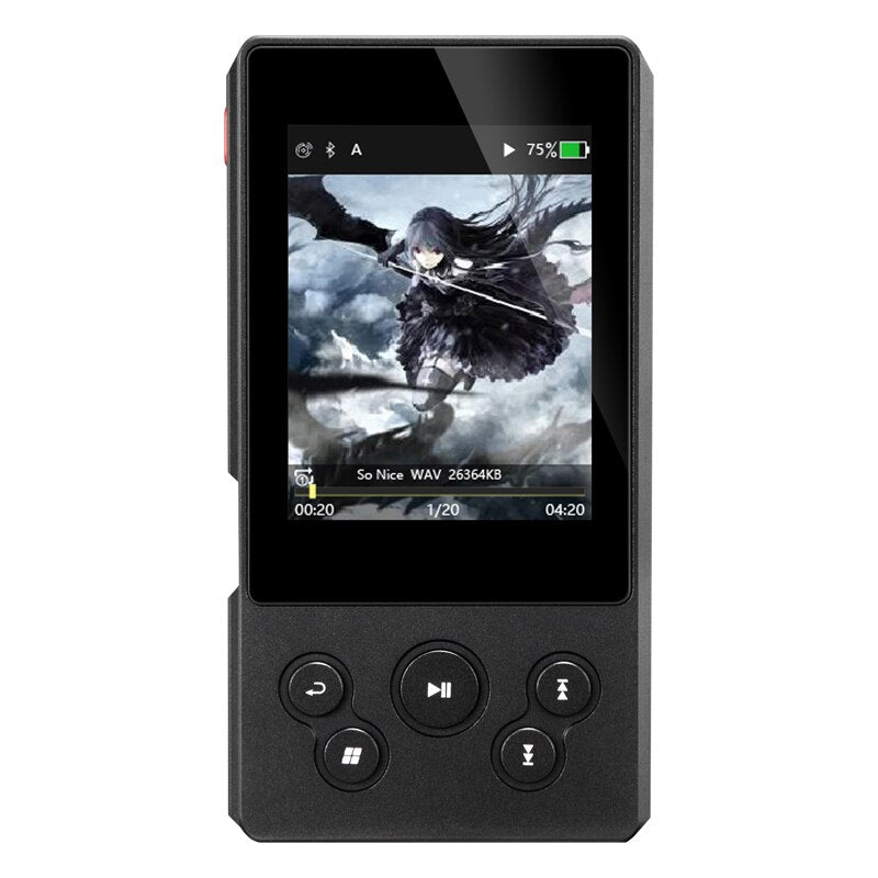 XDUOO X10T II Portable High Resolution Lossless DSD Music Player DAP Support Optical Output MP3 Player (black Other)