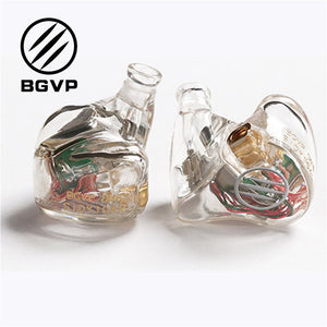 BGVP DM6 Customized Earphone Audiophile HiFi earphone Monitor in-ear Balanced Armature Earphone MMCX cable IEM