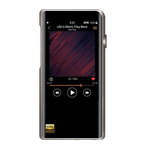 Shanling M5s AK4493EQ DAC Portable Hi-Res Music Player HIFI DAP MP3 With aptX Bluetooth Features DSD256 For Running Sports