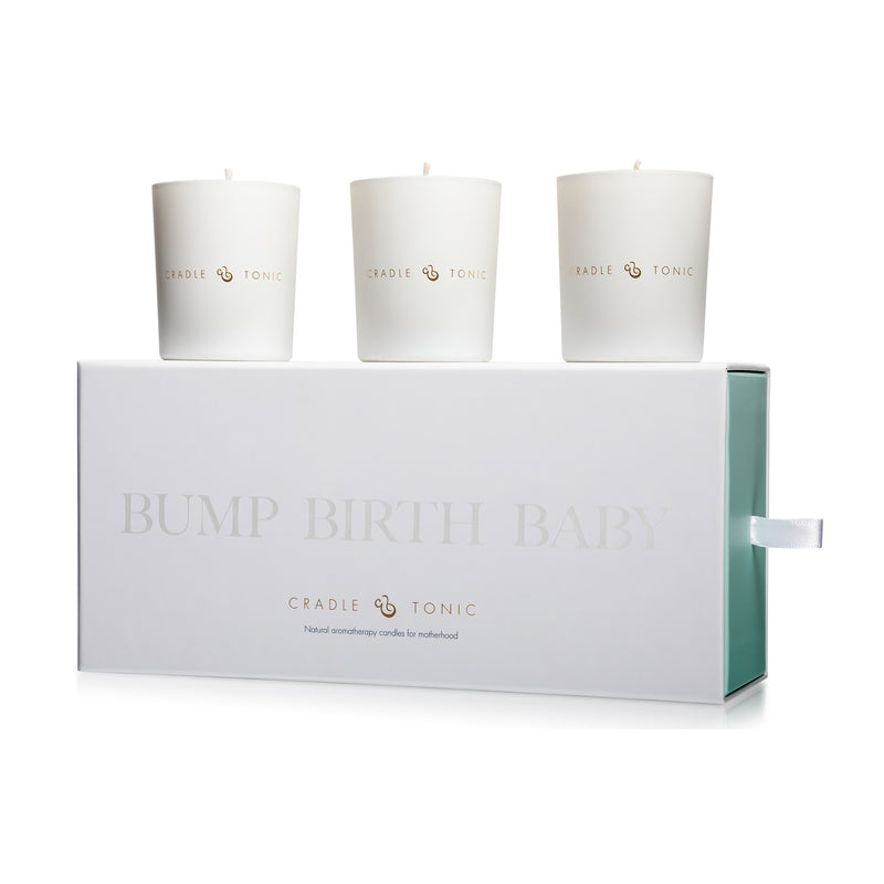 Motherhood Mini Aromatherapy Candle Gift Set