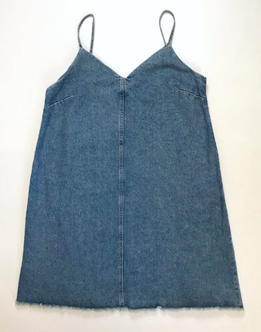 Vintage Denim Dress (L-XL)