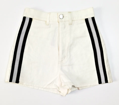 Vintage White Denim Shorts (26-28)