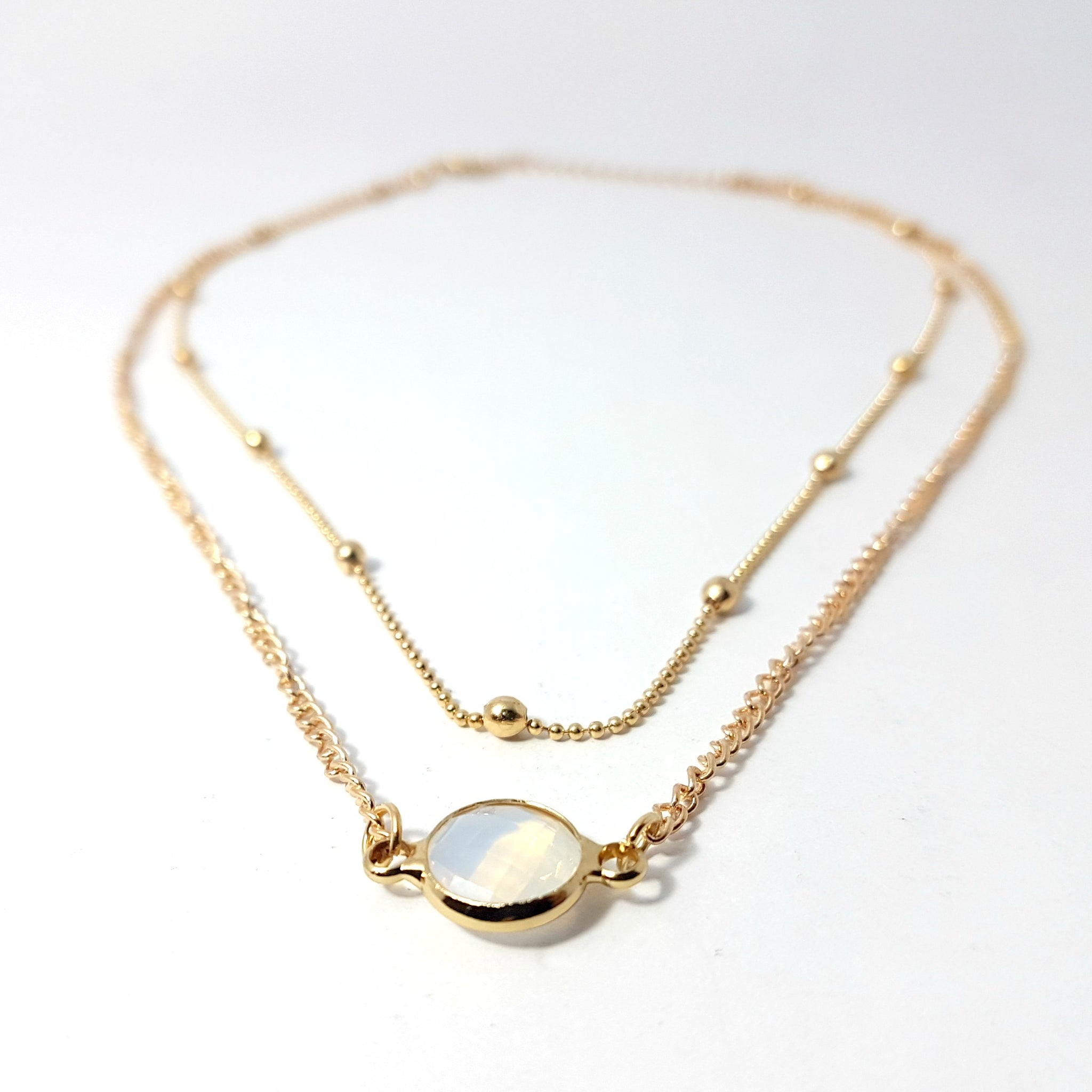 gilded necklace tier strong goldplattiert grosse silver plated collier gold tagliatelle c