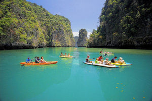 Full Day PHANG NGA & CANOE BY by Speedboat.