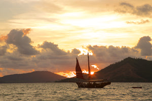 Evening A VERY ROMANTIC SUNSET CRUISE OF PHANG NGA BAY. from Khaolak