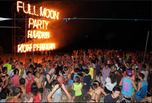 Evening Full Moon Party From Samui Island