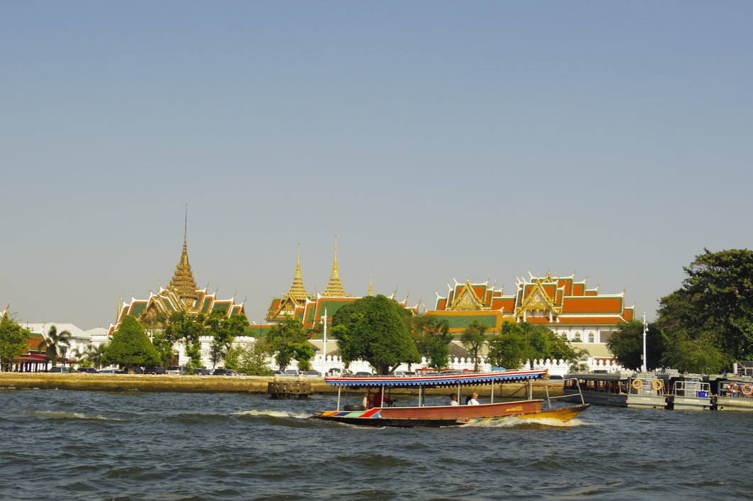 Half Day ROYAL GRAND PALACE AND BANGKOK CANAL TOUR.