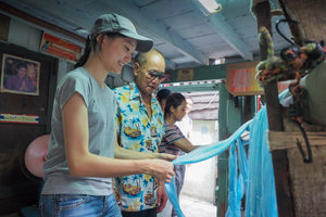 Half Day Tour as a Silk Explorer Ban Krua Nua Bangkok  (Private)