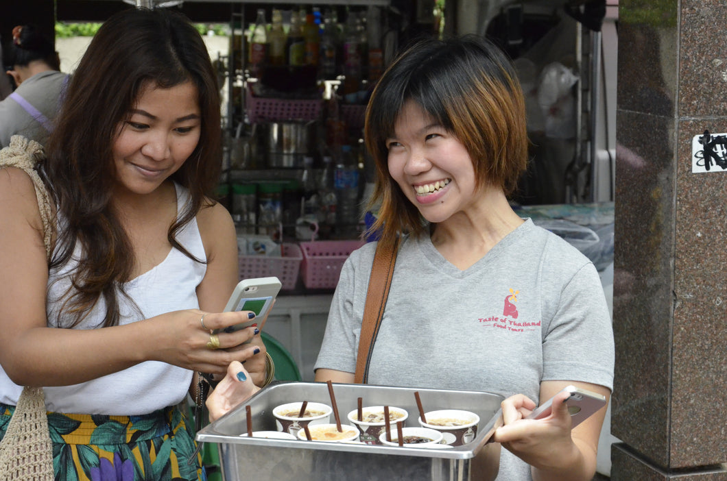 Half Day TASTE OF THAILAND FOOD TOUR (No transfer)