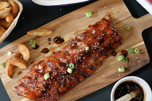 Pork Baby Back Ribs with Hoisin Sauce