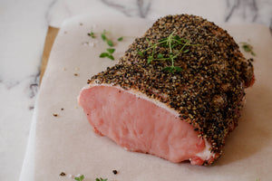 Gills Pork Loin Joint with Salt & Pepper Rub