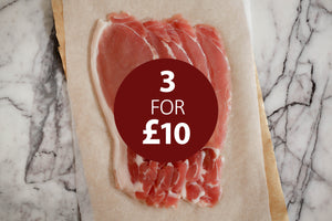 3 for £10 Bacon