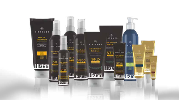 Histan Active Sun Care Specialised Products by Histomer
