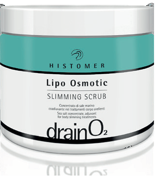 Histomer Drain O2 Lipo Osmotic Slimming Scrub (500ml) - Histomer Malta