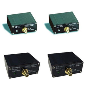 Wideband amplifier set, 1 TBWA2/20dB, 1 TBWA/40dB, 1 TBDA1/14, 1 TBDA1/28
