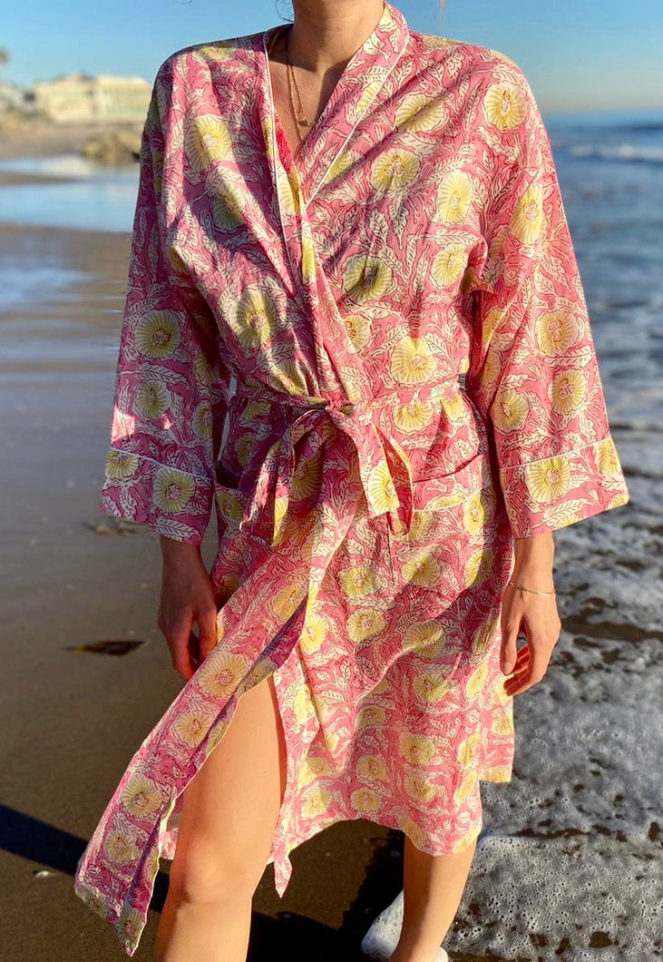SIMONE COTTON ROBE