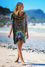 TOBAGO PURE SILK KAFTAN