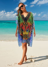 EXOTIC SILK KAFTAN