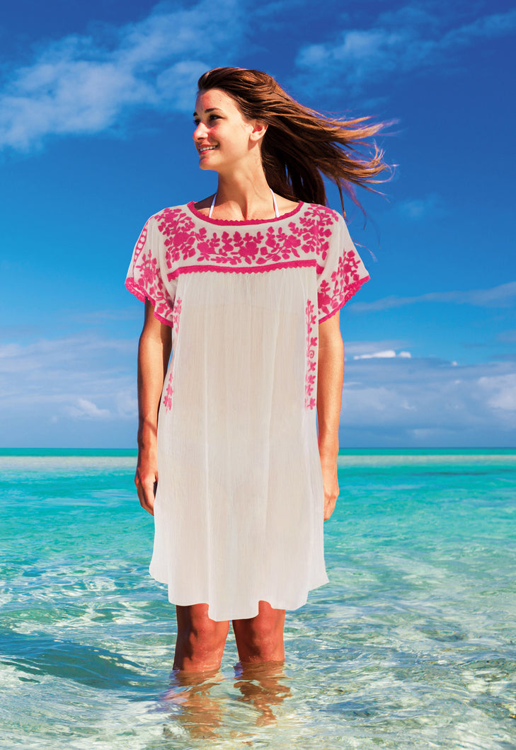 PAXOS COTTON COVER-UP